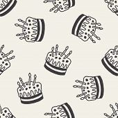picture of fancy cake  - Doodle Cake - JPG