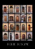 Variaty Of Old Tuscan Doors