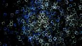 foto of fantastic  - Fantastic abstract futuristic technology background design illustration - JPG