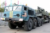 image of amphibious  - An old Soviet Armored troop - JPG