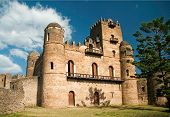 Gonder Gondar Ethiopia Royal Ethiopian Kings Castle