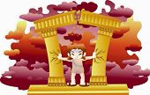 picture of samson  - Bible Story - JPG