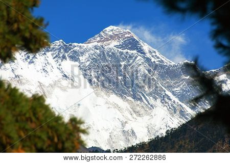 View Of Mount Everest Near