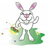CARTOON EASTER BUNNY