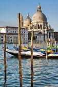 Santa Maria Della Salute Church In Venice, Italy