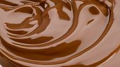 Silky chocolate swirl