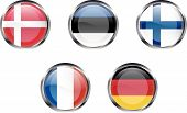 European Flag Buttons - Part 2
