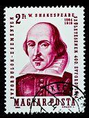 Ungarn ca. 1964 Shakespeare stamp, Ungarn, ca. 1964