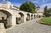 Ancient aqueduct in Nicosia, Cyprus