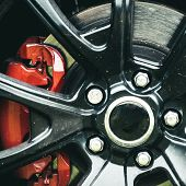 Drive Them Daily, Not Just To The Shows. Wheel And Rim. Front Or Rear. Car Wheel Detail. Alloy Wheel poster