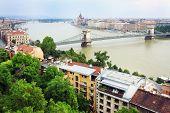 Danube in Budapest, Hungary, Europe