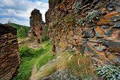 Colti Fortress, Retezat Mountains, Romania