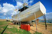 stock photo of asilah  - Asilah shipyard - JPG