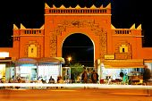 Moroccan medina, Rich, Africa