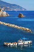 Harbor of Monterosso al Mare, Cinque Terre, Italy