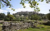Ancient Agora in Athens.