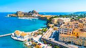 Panoramic View Of Kerkyra, Capital Of Corfu Island, Greece poster