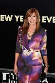 NEW YORK  - DECEMBER 07: Nicole Miller poses for a photo during the 'New Year's Eve' premiere at Zie