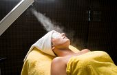 Steam for smooth skin