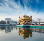 pic of harmandir sahib  - Sikh gurdwara Golden Temple  - JPG