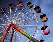 Ferris Wheel Sky poster