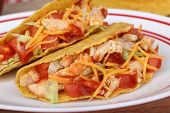 Two Chicken Tacos