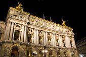 Постер, плакат: Опера Гарнье Париж Франция