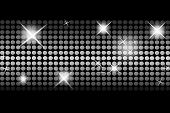 Beautiful disco background lights vector