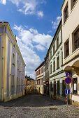Od Street In Olomouc (Olmütz), Czech Republic.