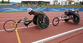 Wheelchair Athletes Race Canada