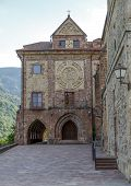 stock photo of senora  - Nuestra Senora de Valvanera Monastery Valvanera Monastery of Our Lady has belonged to the Benedictines La Rioja Spain - JPG