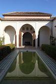 Alcazaba De Malaga. Spain