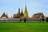 Wat Phra Kaeo, Emerald Buddha Temple, Bangkok