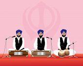 Músicos Sikhs