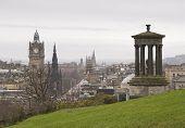 View Of Edinburgh City Center