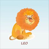 Astrological Symbol Of Lion Or Leo.eps