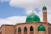 Cúpula de la mezquita