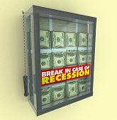 im Falle einer Rezession erlaube brechen