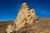 Pinnacle Of Volcanic Breccia
