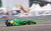 MOSCOW - JUNE 23: Aurelien Panis of RC Formula team (LUX) race at Formula Renault 2.0 race at World
