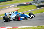 MOSCOW - JUNE 23: Carlos Huertas of Carlin team (GBR) race at Formula Renault 3.5 race at World Seri