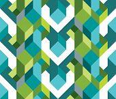 Fresh Geometric Theme Of Pattern