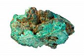pic of malachite  - Sample of malachite  - JPG