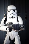 BURBANK - 26 JUN: Star Wars tekens, Stormtroopers op de 39e jaarlijkse Saturn Awards gehouden in Casta