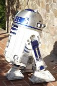 BURBANK - JUN 26: Star Wars characters, R2D2 at the 39th Annual Saturn Awards held at Castaways on J