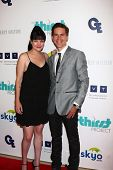 LOS ANGELES - JUN 25:  Pauley Perrette, Brian Dietzen arrives at the 4th Annual Thirst Gala at the B