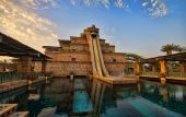 The Leap of Faith Slide in Atlantis Aquaventure in Dubai, UAE.