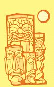 Group of Tikis
