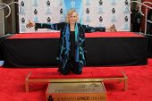 Kim Novak at the Kim Novak Hand and Foot Print Ceremony to coincide with the TCM Film Fest, Chinese