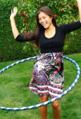 stock photo of hula dancer  - Hula hoop - JPG
